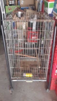 Bird cage and Parrot cageBoth for  R400