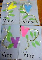Preschool Playbook: March Letters: V Preschool Letter Crafts, Alphabet Letter Crafts, Abc Crafts, Preschool Projects, Classroom Crafts, Preschool Lessons, Alphabet Activities, Preschool Activities, Letter Art