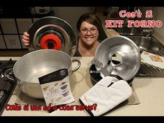 cos'è il kit forno? come si usa il kit forno magic cooker? Ricetta ciambella con il kit forno - YouTube Cos, Dog Bowls, Cooker, Magic, Culture, Iron