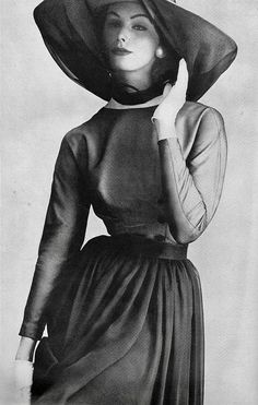 Vogue editorial shot by Irving Penn, 1957
