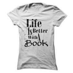 Life is Better With a Book 2 #sunfrogshirt