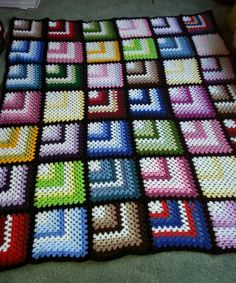 Granny squares with a difference 2