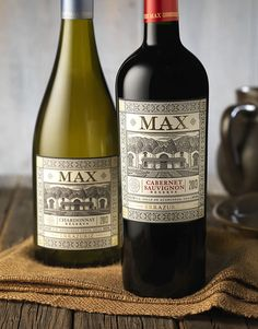 Errazuriz Max Reserva Wine Label & Package Design by CF Napa Brand Design