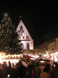 Drinking Gluhwein at the Christmas Markets in Bavaria.