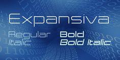 Expansiva Font Family · 1001 Fonts