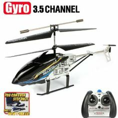 Black Cool Model King 3.5CH IR RC Remote Control Withstand Shatterproof Gyro Helicopter by amtonsee@gmail.com. $26.88. A amazing gift for your kid,It will bring your kid lots of fun.. The Helicopter is Unbreakable, its body can take up to 200 pounds of force.. Easy and Convenient to use for children.. 100% Brand new and high quality.. Quantity: 1pcs. 1.Model: Model King 33015 2.Channel: 3.5 3.Control Mode: 2.4GHz Radio Remote Control 4.Flight time: 5-6 minutes 5.Char...