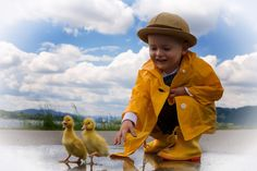 Cute animals and children Photo by 3kk photography. Duckling and water Children Photography, Cute Animals, Water, Kids, Pretty Animals, Gripe Water, Children, Boys, Kid Photography