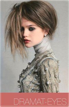 Dramat-Eyes. The art of fashion, make up and hair design fascinate me.