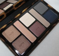 Tarte Call of the Wild Amazonian Clay Eyeshadow Palette Swatches, Review and Eye Looks - Click through! Fall 2012