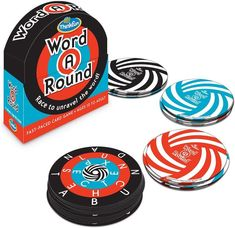 Great educational board games for homeschool or learning at home: Word Around