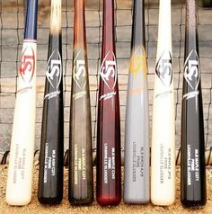 Baseball Gear, Baseball Bats, Collector Knives, Louisville Slugger, Softball, Weapon, Don't Forget, Woodworking, Husband
