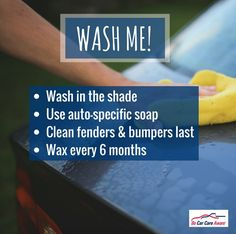 #TipTuesday on behalf of our friends over at Car Care Council!  #tip #clean #car #carwash