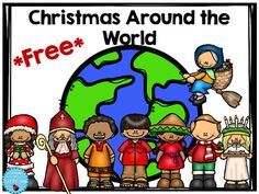 This freebie has 8 different countries to research on how Christmas is celebrated. Holidays Around The World, Around The Worlds, Christmas In Italy, Christmas Time, Christmas Crafts, Preschool Christmas Activities, Elementary Counseling, School Fun, School Stuff
