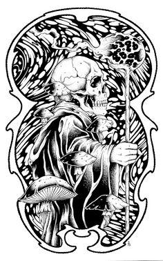 Black Sabbath poster by Alan Forbes