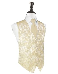 Bamboo Tapestry Tuxedo Vest Bamboo Tuxedo Vest 5 Button Front Tapestry Pattern Faux Besom Pockets Luxurious Satin Fabric Full Back Design Back of Vest: White Available with Matching Bamboo Bow Tie or Long Tie and Pocket Square Available in Long Sizes for Gentleman 6'1 Sizes: