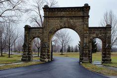 Medina, Ohio  |  Spring Grove Cemetary, entrance