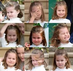 Princess of Charlotte at the wedding of Princess Eugenie and Jack Brooksbank, Windsor Castle, October 2018 Royal Queen, Royal Princess, Prince And Princess, Little Princess, Lady Diana, Prince William Family, Prince William And Catherine, Duchess Kate, Duchess Of Cambridge