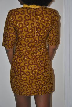 Belle robe africaine authentique