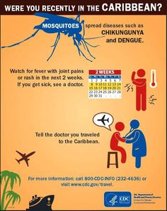 #Chikungunya: Were you recently in the #Caribbean? - #CDC - #TLCTravels #Blog update