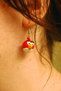 How-To: Angry Birds Earrings by Instructables user, emilygracedavis