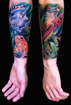 Realism Animal Tatto