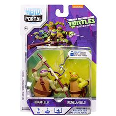 Teenage Mutant Ninja Turtles, Hero Portal Booster Pack, Donatello and Michelangelo, 2-Pack Hero Portal http://www.amazon.com/dp/B00IWO243W/ref=cm_sw_r_pi_dp_LOifvb0MKPVGF