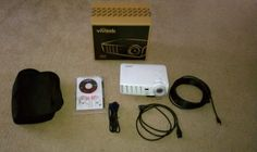 Like new Vivitek D537W DLP projector - $350  Practically new, original box, nylon carrying case, all the documentation, user guide cd-Rom, power card, vga cable, and 20' hdmi cable. 93 hours on the bulb bought it brand new from micro center for six hundred. 720p DLP 3200 lumens.   http://denver.craigslist.org/ele/3453599844.html