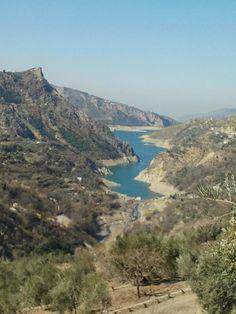 Pantano de Güéjar Sierra. Granada