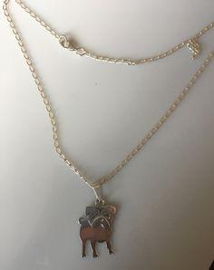 Sterling Silver Pug dog Necklace ,Sterling   silver  Pug Dog pendant    on Sterling silver.  necklace   chain,  perro pug de  plata 925 de Silverandme en Etsy