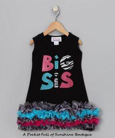 BIG SIS COLORFUL DRESS