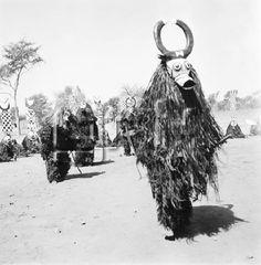 MASQUES DES RITES BOBO AU BURKINA FASO VERS 1950