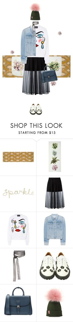 """""""sparkle hipster"""" by fairuzamoon ❤ liked on Polyvore featuring Surya, Givenchy, Boutique Moschino, rag & bone, Fallon, Burberry, Hipster and cartoon"""