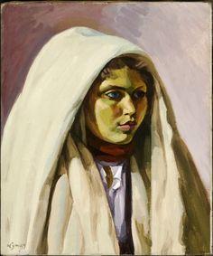 Lyman, John - Habiba (Jeune Tunisienne) - Musée des beaux-arts de Montréal