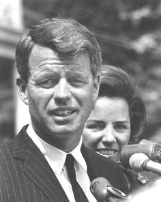 "Robert Francis ""Bobby"" Kennedy (November 20, 1925 – June 6, 1968), commonly known by his initials RFK, was an American politician, who served as a United States Senator for New York from 1965 until his assassination in 1968. He was previously the 64th U.S. Attorney General from 1961 to 1964, serving under his older brother, President John Fitzgerald ""Jack"" Kennedy and his successor. http://en.wikipedia.org/wiki/Robert_F._Kennedy"