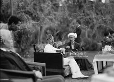 King Feisal I of Iraq with his brother Emir Abdullah of Transjordan, at the palace, Baghdad, Iraq. Get premium, high resolution news photos at Getty Images Gertrude Bell, Cradle Of Civilization, World History, History Pics, Pinterest Photos, Baghdad, Cool Photos, Interesting Photos, Stock Pictures