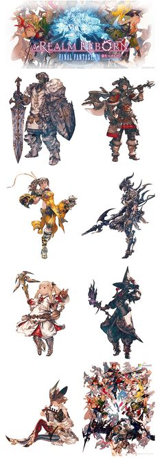 from Final Fantasy XIV A realm reborn
