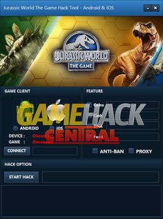 Jurassic World The Game Hack – Get Free Coins, Cash, DNA and Food Cheat