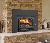 Find exclusive Quadra-Fire slow combustion wood fireplaces at Jetmaster Melbourne. Discover the range of Quadra-Fire fireplaces online here. Jetmaster Fireplace, Fireplace Inserts, Fireplaces, Wood Burning Insert, Traditional Fireplace, House Goals, Glass Door, New Homes, Home Appliances