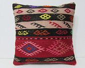 sofa cushion 18x18 kilim pillow bohemian pillow cover extra large cushion bed decorative pillow kilim floor pillow couch pillow case 24912