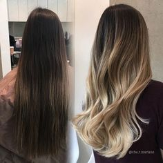 Love seeing before and after looks. It's amazing how much hair can change after a couple hours with some bleach and color