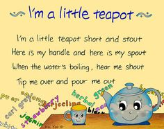 One of my favorite little songs growing up.remember singing it in grade musical ; Nursery Rhymes Lyrics, Old Nursery Rhymes, Nursery Songs, Kids Poems, English Poems For Children, Preschool Poems, Preschool Crafts, Rhymes Songs, Rhymes For Kids