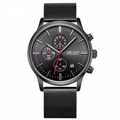 Cheap watch brand men, Buy Quality watch fashion men directly from China watch men Suppliers: Baogela New Top Luxury Watch Men Brand Men's Watches Stainless Steel Mesh Band Quartz Wristwatch Fashion casual watches Stylish Watches, Casual Watches, Luxury Watches For Men, Mesh Armband, Top Luxury Brands, Stainless Steel Mesh, Sport Watches, Men's Watches, Gold Watches