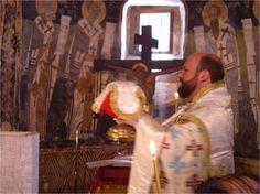 Wielkie Wejście (procesja z darami) podczas Świętej Liturgii