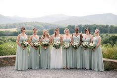 Summer Wedding at Pippin Hill Farm and Vineyards, Wedding Venue in Charlottesville, VA. Photography by Kylie Martin Photography. Event Planning and Design by Donovan Groves Events. Florals by Blue Ridge Floral Design. Blue Ridge Mountains, Charlottesville, Bridesmaid Dresses, Wedding Dresses, Rustic Charm, Event Planning, Summer Wedding, Vineyard, Backdrops