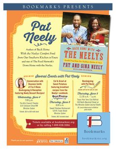 "Bookmarks Presents Pat Neely from Food Network's ""Down Home with the Neelys"""