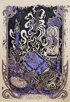 Image of SAINT VITUS + ORANGE GOBLIN (2014) Screenprinted Poster