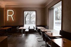 Restaurant Roecklplatz in Munich | Interesting concept with on-the-job training for future chefs | more info here: http://roecklplatz.de/de/htm/konzept_02.htm