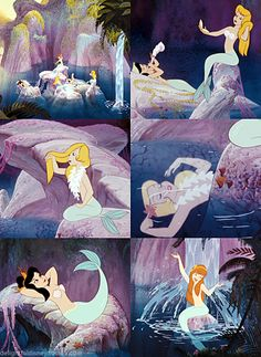 the mermaids, my favorite part. :)