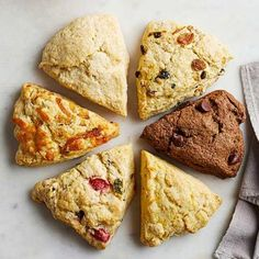 Pick-a-Flavor Scones: Choose the base recipe for Sour Cream Scones, or try a flavor variation.