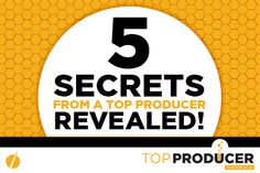 This is a must have for your online marketing education. Introducing Top Producer Formula